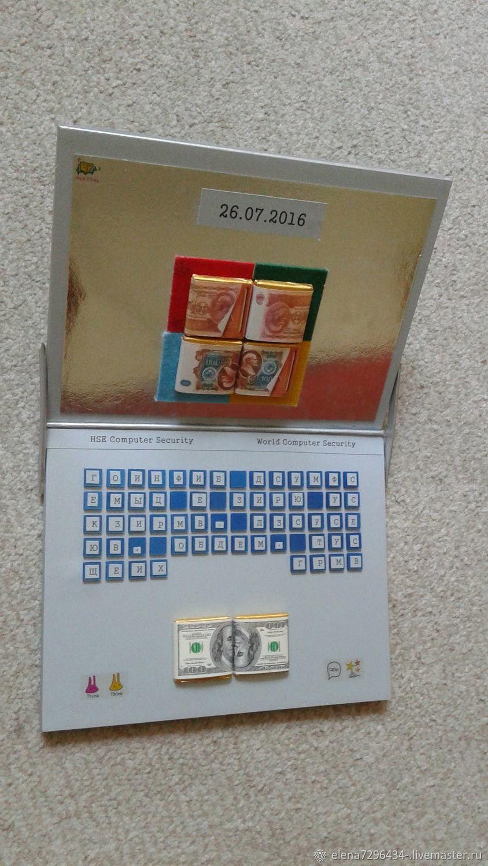 Сладкий ноутбук IT-директору, Кулинарные сувениры, Москва,  Фото №1