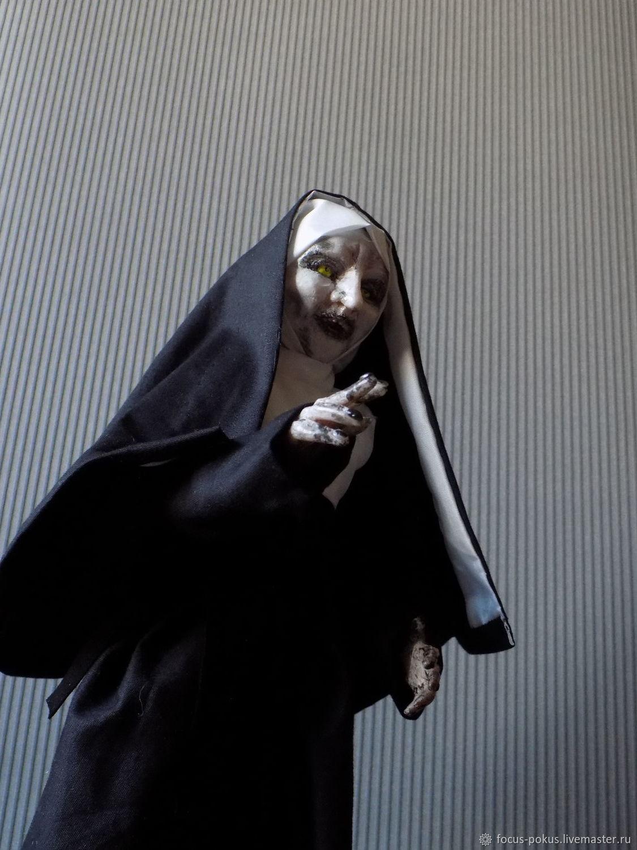 Монахиня, Проклятие монахини, Валак, кукла, Куклы и пупсы, Алматы,  Фото №1