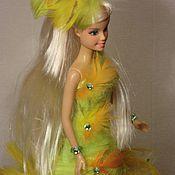 """Букеты ручной работы. Ярмарка Мастеров - ручная работа Кукла из конфет """" Леди птица"""" ( букет из конфет) разные цвета. Handmade."""