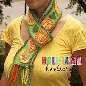 Аксессуары handmade. Livemaster - original item Art scarf,