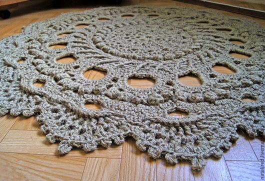 Осинка вязание крючком ковры 7