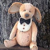 Куклы и игрушки ручной работы. Ярмарка Мастеров - ручная работа щеночек Коржик. Handmade.