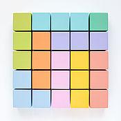 Куклы и игрушки handmade. Livemaster - original item Colorful cubes for kids. Handmade.