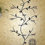 Цветы и флористика manualidades. Livemaster - hecho a mano Forjado de pared estante de colores de Madera. Handmade.