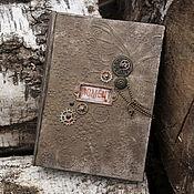 Канцелярские товары ручной работы. Ярмарка Мастеров - ручная работа Альбом для настоящего мужчины. Handmade.