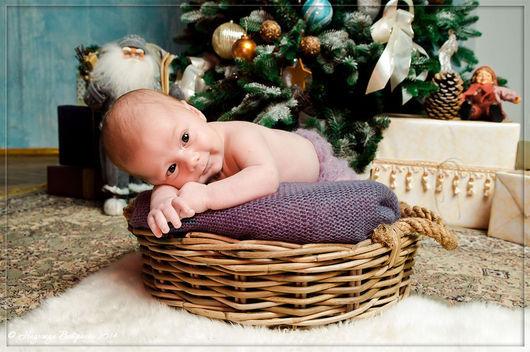 Фото-работы ручной работы. Ярмарка Мастеров - ручная работа. Купить Новогодняя фотосессия для новорожденных. Handmade. Белый, для родителей