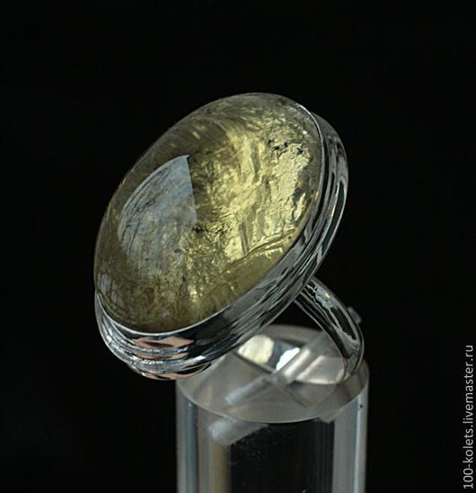 Кольца ручной работы. Ярмарка Мастеров - ручная работа. Купить Кольцо с лимонным кварцем. Handmade. Лимонный, натуральные камни, серебро