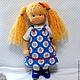 Вальдорфская игрушка ручной работы. Маша, 42 см. svetlana. Интернет-магазин Ярмарка Мастеров. Вальдорфская кукла, кукла, игрушка