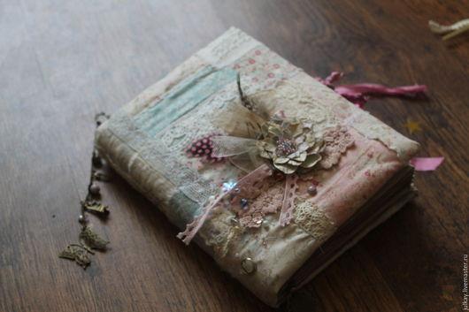 """Блокноты ручной работы. Ярмарка Мастеров - ручная работа. Купить Блокнот ручной работы """"Из лоскутков моей души..."""". Handmade."""