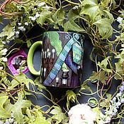 Посуда handmade. Livemaster - original item Mug author`s
