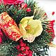 Цветы ручной работы. Новогодняя композиция с орхидеями. Ирина Абрамова. Ярмарка Мастеров. Орхидеи, новогодний подарок, новогодняя композиция