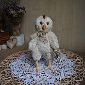 Куклы и игрушки ручной работы. Ярмарка Мастеров - ручная работа Цыпленок тедди. Handmade.