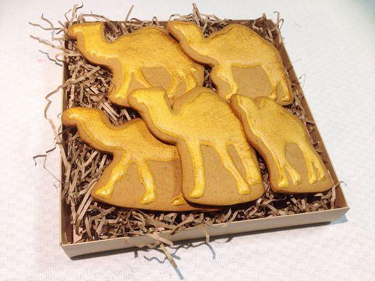"""Кулинарные сувениры ручной работы. Ярмарка Мастеров - ручная работа. Купить Имбирное печенье """"Караван"""". Handmade. Имбирное печенье, подарок"""