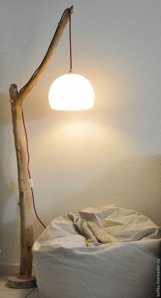 """Освещение ручной работы. Ярмарка Мастеров - ручная работа. Купить Лампа напольная """"Дерево познания"""". Handmade. Комбинированный"""