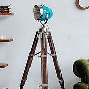 handmade. Livemaster - original item Outdoor lamp loft-style HighWayStar RoverBlue. Handmade.