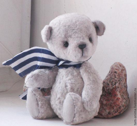 """Мишки Тедди ручной работы. Ярмарка Мастеров - ручная работа. Купить Мишка тедди """"Ветер с моря"""". Handmade. Серый"""