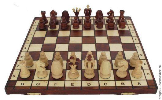Настольные игры ручной работы. Ярмарка Мастеров - ручная работа. Купить Шахматы Королевские 44 см   (6030). Handmade. Шахматы