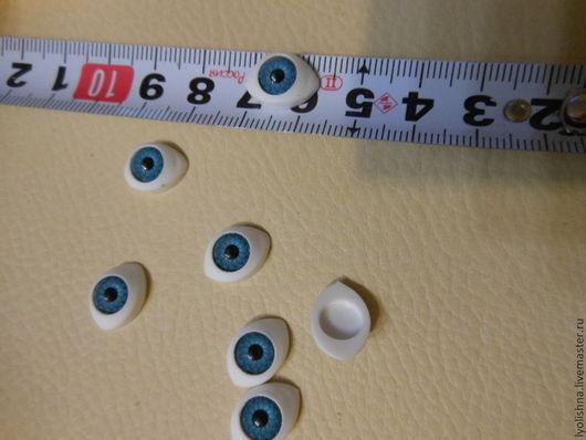 """Куклы и игрушки ручной работы. Ярмарка Мастеров - ручная работа. Купить Глаза для игрушек """"рыбки"""". Handmade. Голубой, Глаза"""