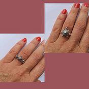 Украшения handmade. Livemaster - original item Turtle Rings. Silver 925 sample. Ring turtle. Handmade.