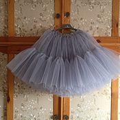 Одежда ручной работы. Ярмарка Мастеров - ручная работа Дымчатая юбка - американка для взрослых. Handmade.