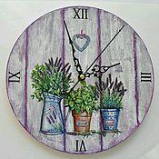 Для дома и интерьера ручной работы. Ярмарка Мастеров - ручная работа Часы Прованс 2. Handmade.