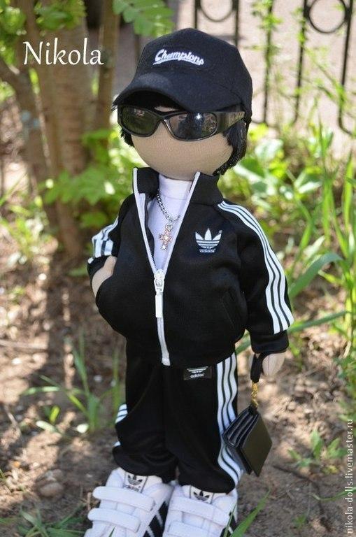 Человечки ручной работы. Ярмарка Мастеров - ручная работа. Купить Текстильная кукла (портретная). Handmade. Текстильная кукла, кукла на заказ