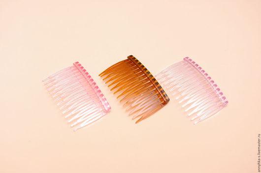 Для украшений ручной работы. Ярмарка Мастеров - ручная работа. Купить Гребень для волос ( 3 цвета ). Handmade.