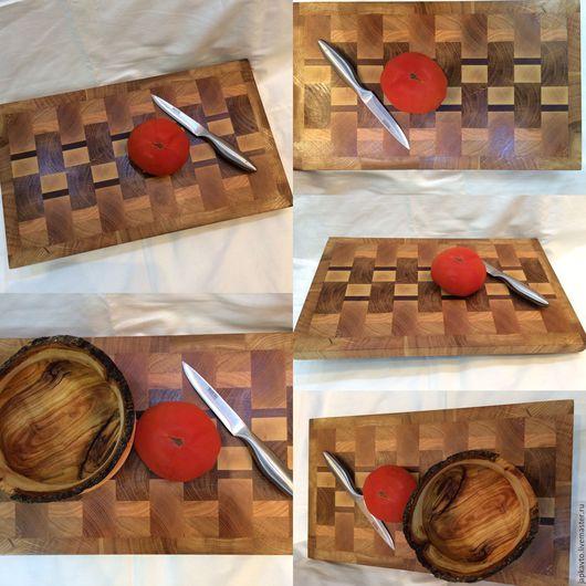 """Кухня ручной работы. Ярмарка Мастеров - ручная работа. Купить Торцевая разделочная доска """"Дуб"""". Handmade. Дуб, для кухни"""