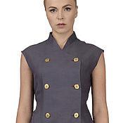 Одежда ручной работы. Ярмарка Мастеров - ручная работа Блуза фиолетовая. Шелк+хлопок.. Handmade.