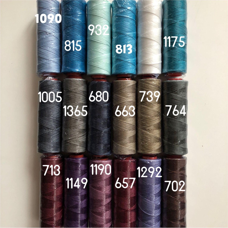 Threads waxed DAFNA Italy 1 mm 155rub, Thread, Moscow,  Фото №1