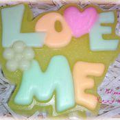 """Косметика ручной работы. Ярмарка Мастеров - ручная работа Мыло ручной работы """"Love me"""". Handmade."""
