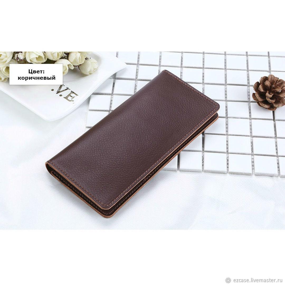 Купить кошелек Sibyl из натуральной кожи / Подарочная упаковка – купить на Ярмарке Мастеров – J32NDRU | Кошельки, Москва