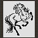 """Схема для вышивки крестиком """"Конь"""", Вышивка, Александров, Фото №1"""