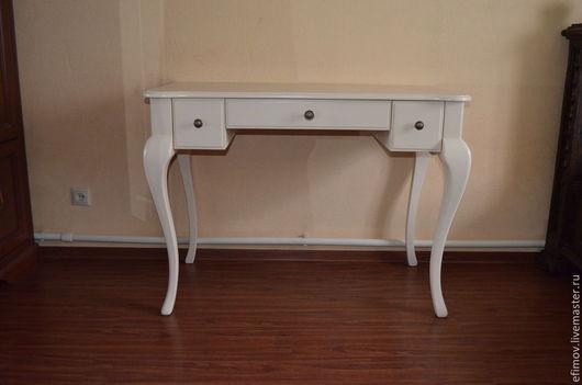 Мебель ручной работы. Ярмарка Мастеров - ручная работа. Купить Стол  Beige. Handmade. Бежевый, мебель из массива, эмаль