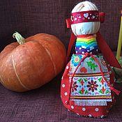 Народная кукла ручной работы. Ярмарка Мастеров - ручная работа Куколка оберег На удачное замужество.. Handmade.