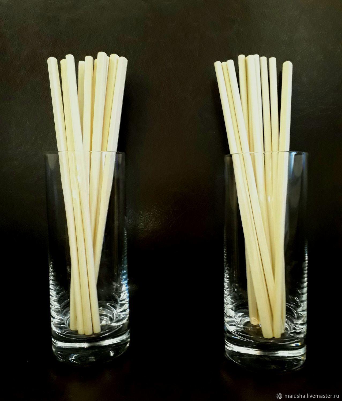 """Китайские"" палочки из бамбука (2 шт.), Другие виды рукоделия, Москва, Фото №1"