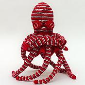 Куклы и игрушки ручной работы. Ярмарка Мастеров - ручная работа Игрушка вязаная Осьминог ОКТИмус Прайм. Handmade.