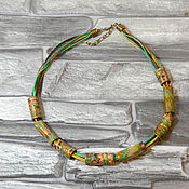 Украшения handmade. Livemaster - original item Necklace Spring made of polymer clay. Handmade.