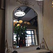 Для дома и интерьера ручной работы. Ярмарка Мастеров - ручная работа Зеркало настенное в стиле Прованс. Handmade.