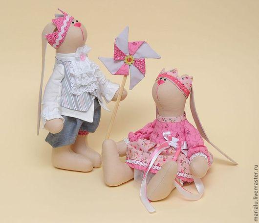 Куклы Тильды ручной работы. Ярмарка Мастеров - ручная работа. Купить Королевич с королевишной. Handmade. Бежевый, тильда заяц