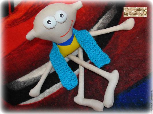 Человечки ручной работы. Ярмарка Мастеров - ручная работа. Купить Бесплатная пересылка Маленький спортсмен - игровая кукла ручной работы. Handmade.