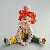 Для дома и интерьера handmade. Livemaster - original item Cheerful toddler.Porcelain figurine.. Handmade.