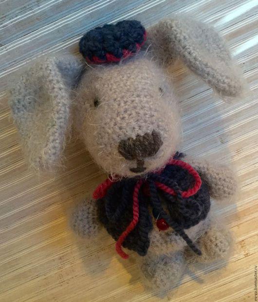 Игрушки животные, ручной работы. Ярмарка Мастеров - ручная работа. Купить Кролик Джо. Handmade. Серый, подарок, игрушка заяц