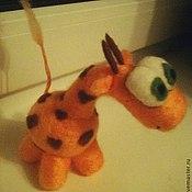Куклы и игрушки handmade. Livemaster - original item Giraffe. Handmade.