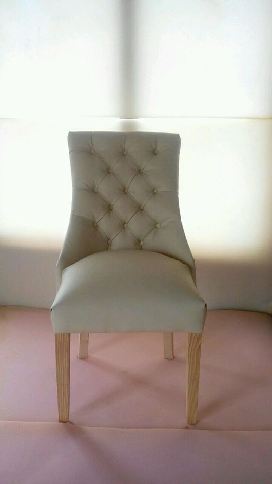 Мебель ручной работы. Ярмарка Мастеров - ручная работа. Купить Стул мягкий с пуговицами. Handmade. Стул, стулья мягкие