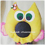 Куклы и игрушки ручной работы. Ярмарка Мастеров - ручная работа Игрушка на объектив сова. Handmade.