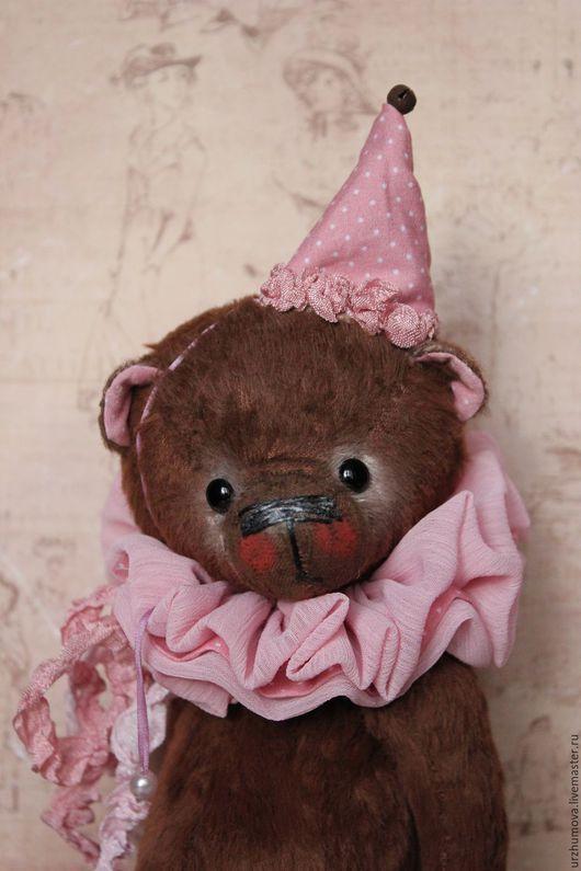 """Мишки Тедди ручной работы. Ярмарка Мастеров - ручная работа. Купить """"Шоколадный десерт..."""". Handmade. Коричневый, ленты шёлковые"""