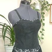 Одежда ручной работы. Ярмарка Мастеров - ручная работа Черное платье-1. Handmade.