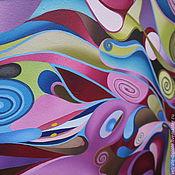 """Картины и панно ручной работы. Ярмарка Мастеров - ручная работа картина маслом 60х90 """"Ночь"""". Handmade."""