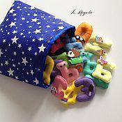 Куклы и игрушки handmade. Livemaster - original item Cognitive alphabet made of felt. Handmade.